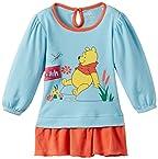 First Baby Girls' Winnie the Pooh Dress (FD839_Light Sky_size-45)