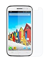 Snoogg MICROMAX A64 High screen protector film High Definition (HD) Ultra Clear (invisible) - Lifetime Replacement Warranty + Cleaning Cloth