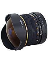 Rokinon FE8M-C 8mm F3.5 Fisheye Fixed Lens for Canon (Black)