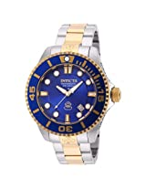 Invicta Pro Diver Automatic Blue Dial Two-tone Stainless Steel Men's Watch (19804)