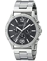 Caravelle New York  Sport Analog Grey Dial Men's Watch - 43A115