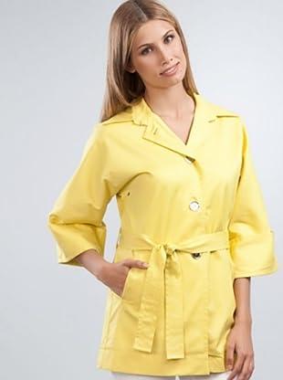 Armand Basi Parka Cinturón (amarillo)