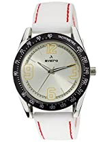 Aveiro Fashion Analog White Men's Watch (AV63WHTSL)