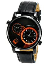 Giordano Analog Black Dial Men's Watch - 60058 (P11639)