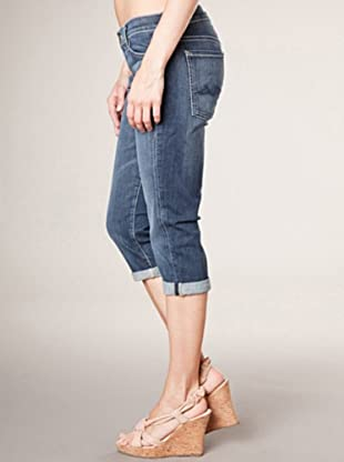 7 for all Mankind 3/4 Jeans Josefina Skinny Fit (mittelblau denim)