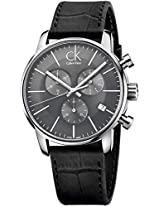 Calvin Klein Black Dial Men's Watch - K2G271C3