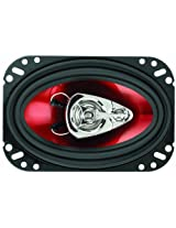 "BOSS Audio CH4630 Chaos Exxtreme 4"" x 6"" 3-way 250-watt Coaxial Speaker"
