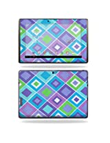 Protective Vinyl Skin Decal Cover for Asus Eee Pad Transformer Prime TF201 Tablet sticker skins Pastel Argyle