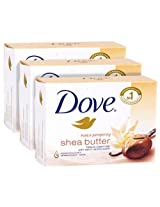 Dove shea butter bar 135g (pack of 3) imported