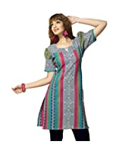 Karishma Suits Women Cotton Kurta (Kdtkpg18 _Multi-Coloured _Free Size)