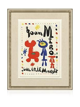 Joan Miro Galerie Maeght, 1959