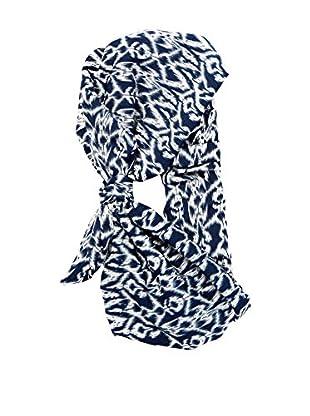 Alibey Dreieckstuch  blau/weiß