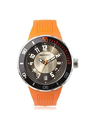 Philip Stein Men's 34-BRG-RO Extreme Orange Rubber Watch