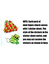 Halmet Piglet ~0.9 Angry Birds Mini-Figure Charm: Angry Birds Danglers Fun Pack Series #1
