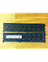 HYNIX HMT351U6BFR8C-H9 4GB DESKTOP DIMM DDR3 PC10600(1333) UNBUF 1.5v 2RX8 240P 512MX64 256mX8 CL9 8