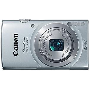 Canon Cameras PowerShot ELPH 135 16MP - 9153B001 (Silver)