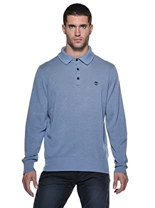 Timberland Polo Lino (Azul)