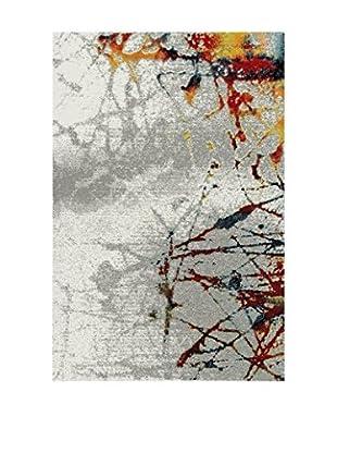Chic Orange Teppich Rio / Abstract
