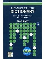 The Student's Dictionary - English Into English & Gujarati