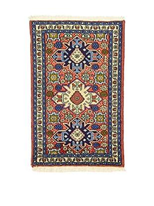 Eden Teppich Ardebil rot/blau/mehrfarbig 66 x 98 cm