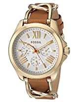 Fossil Cecile Analog Silver Dial Women's Watch - AM4619