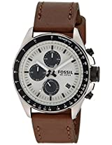Fossil CH2882 Chronograph Silver Dial Men's Watch