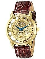 Stuhrling Original Classic Analog Gold Dial Men's Watch - 165B.3335K31