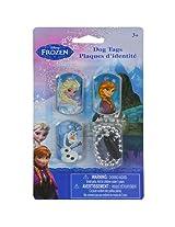 Disney Frozen Dog Tag Necklace Set Of 3