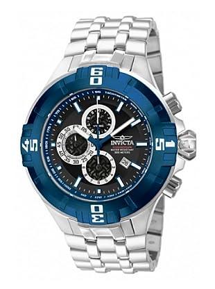 Invicta 12362 - Reloj de Caballero cuarzo metálico Plata