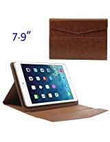 JUJEO ZHUDIAO Envelope Sucker Leather Case for 7.9-Inch Tablets, Brown (MSP-345F)