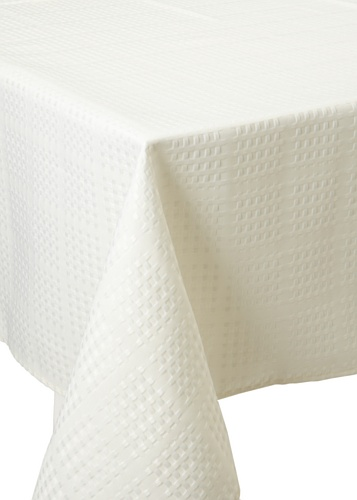 Bardwil Evolution Square Tablecloth (Ivory)