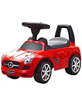 Delia Baby Mercedes Benz, Red