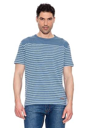Pedro del Hierro Camiseta Rayas (Azul)