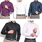 Spaky Combo Of 5 Cotton Men Shirts