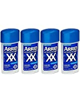 Arrid Extra Dry Antiperspirant Deodorant, Clear Gel, Cool Shower, 2.6 Oz (Pack Of 4)