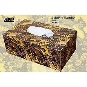 Indispash Snake Print Tissue Box