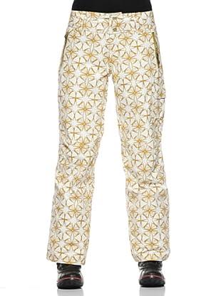 E2ko Pantalone Zonna (Bianco/Oro)