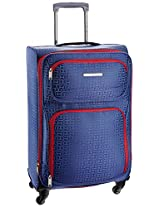 Tommy Hilfiger Florida Polyester 57 cms Navy Soft sided Carry-On (TH/FLO08055)