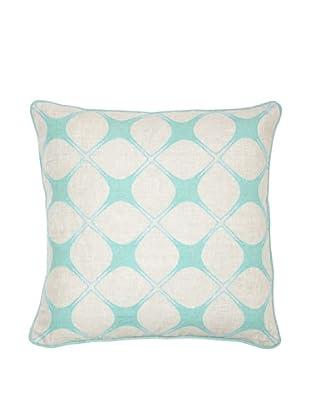 Villa Home Stargazer Pillow, Turquoise
