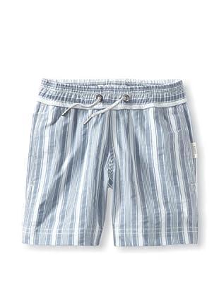 Onia Boy's Charlie Trunks (Ocean/White Stripe)