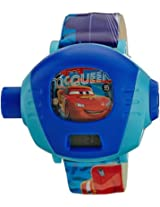 Disney Cars 5 Digital Projector Watch - Blue (DW100245)