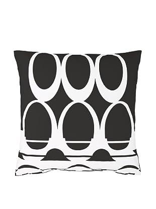 Twinkle Living Moondance Pillow Cover (Black/White)