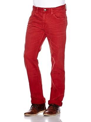 Tom Tailor Pantalón Harrison (Rojo)