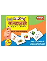 Krazy Hindi Alphabets - Barakhadi Flash Cards