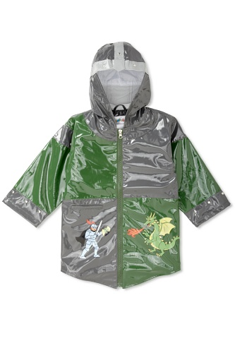 Kidorable Dragon Knight Raincoat (Grey)