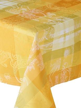 Garnier-Thiebaut Mille Panache Tablecloth (Canary)