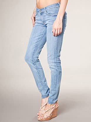 7 for all Mankind 5-Pocket Jeans The Skinny Pale Whisk (dunkelblau denim)