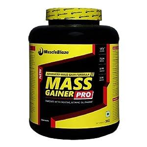 MuscleBlaze Mass Gainer, Chocolate 6.6 lb