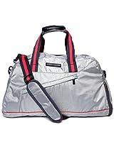 Tommy Hilfiger Polyester 39 Ltrs Grey Gym Bag (TH/GLA07GYM)