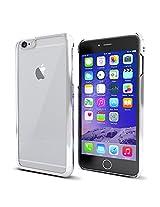 MTT® iPhone 6S / 6 Case Slim Fit Apple Logo Display Premium PC Case (ELECTRO SILVER)